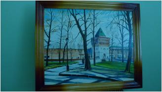 В ЛИУ-3 проведен конкурс художественной живописи осужденных