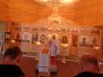 В храме ИК-4 прошло богослужение