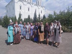 Сотрудники ИК-2 совершили поездку в Свято-Троицкий монастырь