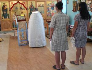 В ИК-18 состоялось таинство крещения