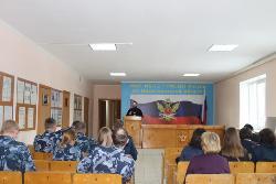 Сегодня в ИК-12 настоятелем церкви Покрова Божией Матери г.Шахунья проведена проповедь