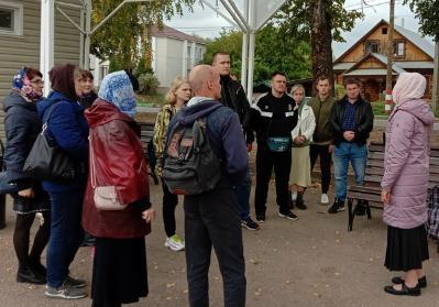 Сотрудники ИК-5 ГУФСИН России посетили свято-Троицкий Серафимо - Дивеевский монастырь