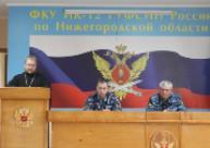 ИК-12 посетил секретарь Городецкой Епархии