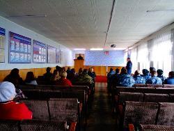 В ИК-4 прошла встреча личного состава со священнослужителем