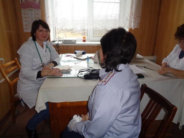 Сотрудники исправительных учреждений Тоншаевского района Нижегородской области прошли ежегодную диспансеризацию