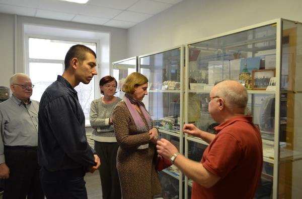 Медицинские работники МСЧ-52 ФСИН России посетили постоянно действующую  историческую экспозицию ГУФСИН России по Нижегородской области